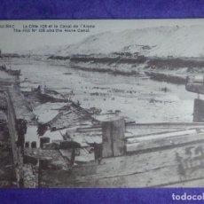 Postales: POSTAL - PRIMERA GUERRA MUNDIAL - 1ª - I - 15 BERRY-AU-BAC - COLINA 108 Y CANAL DE AISNE - . Lote 65019071