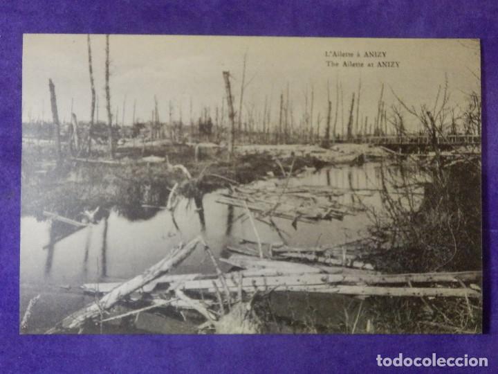 POSTAL - PRIMERA GUERRA MUNDIAL - 1ª - I - L´ AILETTE A ANYZY - (Postales - Postales Temáticas - I Guerra Mundial)