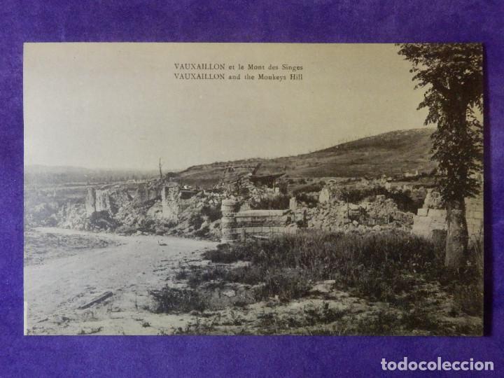 POSTAL - PRIMERA GUERRA MUNDIAL - 1ª - I - VAUXAILLON ET LE MONT DES SINGES (Postales - Postales Temáticas - I Guerra Mundial)