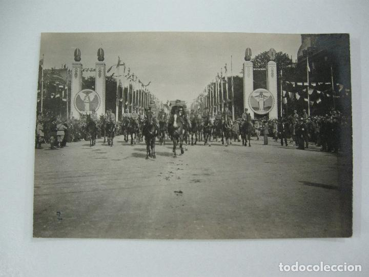 Postales: Lote de 13 postales fotográficas 1919 Paris desfile de la victoria 1ª guerra mundial - Foto 3 - 67458229
