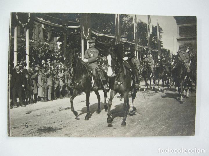 Postales: Lote de 13 postales fotográficas 1919 Paris desfile de la victoria 1ª guerra mundial - Foto 7 - 67458229