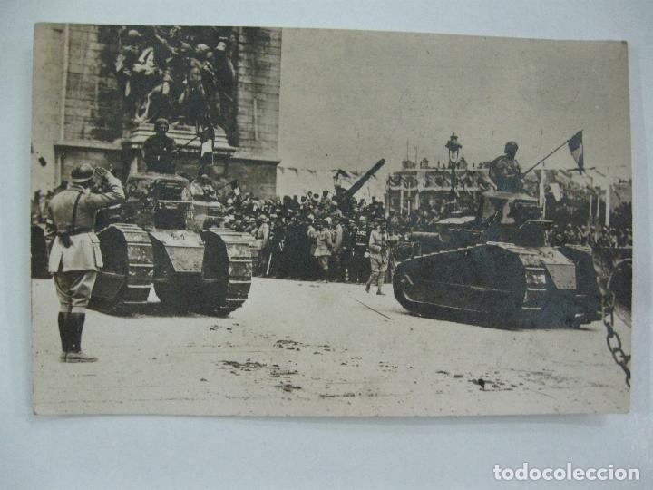 Postales: Lote de 13 postales fotográficas 1919 Paris desfile de la victoria 1ª guerra mundial - Foto 13 - 67458229