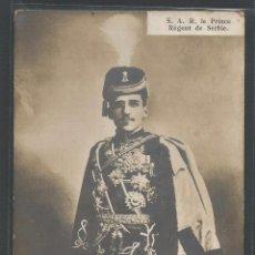 Postales: EL PRÍNCIPE REGENTE DE SERBIA - ALEJANDRO I - P19177A. Lote 76561031