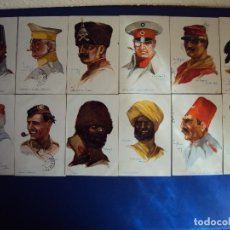 Postales: (PS-52191)LOTE DE 12 POSTALES MILITARES ILUSTRADAS POR DUPUIS. Lote 88385964
