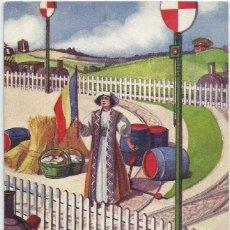 Postales: POSTAL SERIE PAISES NEUTRALES I GUERRA MUNDIAL .-Nº 116 RUMANIA .- ILUSTRA EM. DUPUIS 1916. Lote 91561160