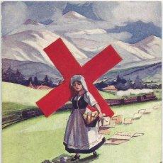 Postales: POSTAL SERIE PAISES NEUTRALES I GUERRA MUNDIAL .-Nº 111 SUIZA .- ILUSTRA EM. DUPUIS 1916. Lote 91561525