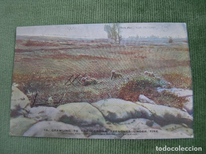 Postales: LOTE 19 POSTALES ANTIGUAS POSTAL I GUERRA MUNDIAL DUPUIS DAILY MAIL WAR PICTURES. VER FOTOS - Foto 6 - 92426230
