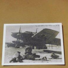 Postales: POSTAL ANTIGUA AVIONES DE GUERRA ALEMANIA 1941 ÁFRICA DEL NORTE. Lote 94782039