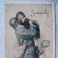 Postales: POSTAL CARTEL I GUERRA MUNDIAL - EDITADA EN PRAGA - 1921. Lote 95306891