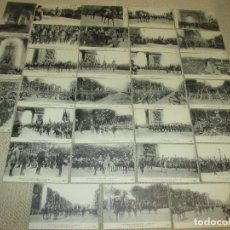 Postales: LOTE 30 POSTALES DE LAS FIESTAS DE LA VICTORIA EN PARIS 14 DE JULIO DE 1919, EDITORIAL ELD. Lote 95706735