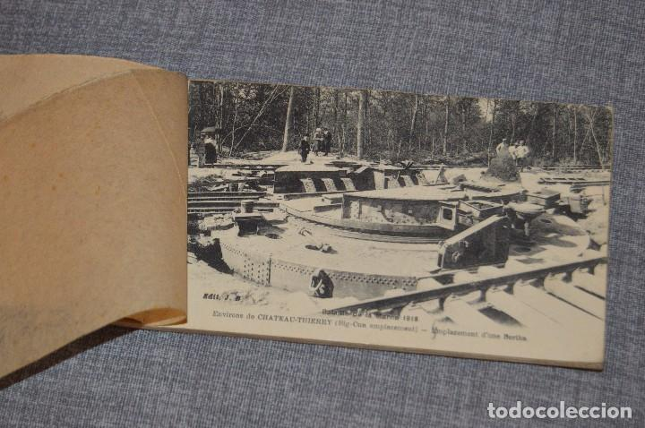 Postales: I GM - VINTAGE - LIBRITO DE POSTALES - BATAILLE DE LA MARNE 1918 - FIRST AMERICAN VICTORY IN FRANCE - Foto 2 - 100754579