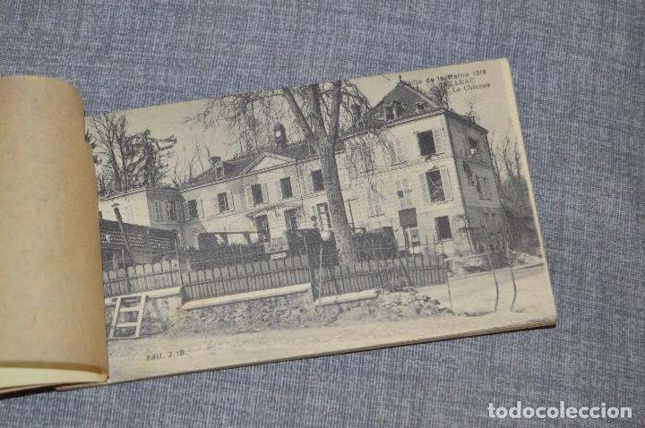 Postales: I GM - VINTAGE - LIBRITO DE POSTALES - BATAILLE DE LA MARNE 1918 - FIRST AMERICAN VICTORY IN FRANCE - Foto 3 - 100754579