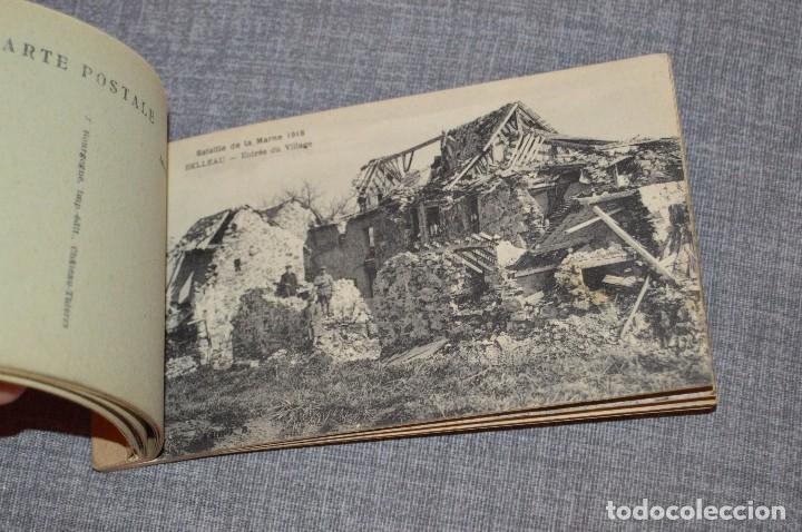 Postales: I GM - VINTAGE - LIBRITO DE POSTALES - BATAILLE DE LA MARNE 1918 - FIRST AMERICAN VICTORY IN FRANCE - Foto 4 - 100754579