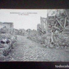 Postales: WW1 GUERRA MUNDIAL MONTDIDIER RUE D´AMIENS S/C S/Nº ED LEON CARON. Lote 101198739