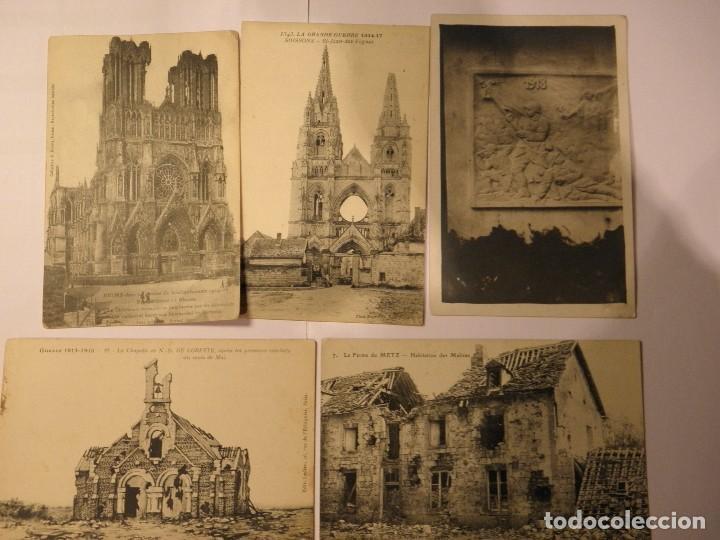 Postales: LOTE 20 POSTALES PRIMERA GUERRA MUNDIAL - Foto 4 - 102291255