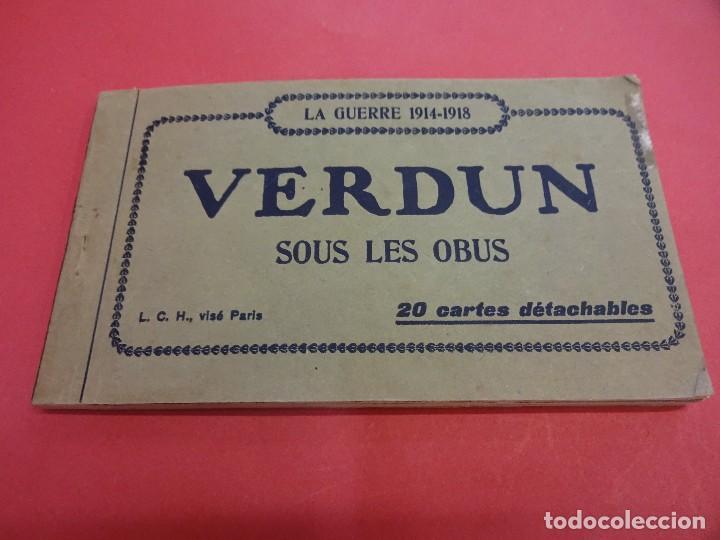 VERDUN. BLOCK 20 POSTALES ORIGINAL I GUERRA MUNDIAL (1914-1918) (Postales - Postales Temáticas - I Guerra Mundial)