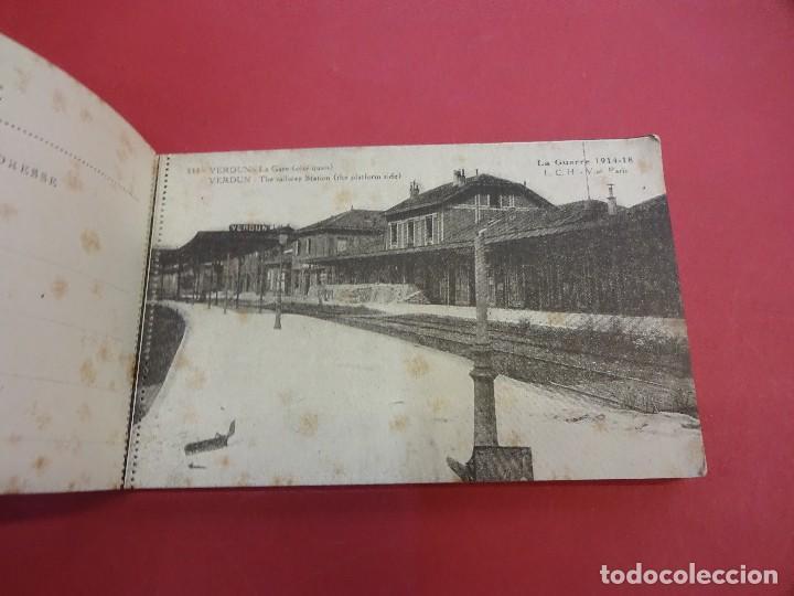 Postales: VERDUN. Block 20 postales original I Guerra Mundial (1914-1918) - Foto 3 - 102776475