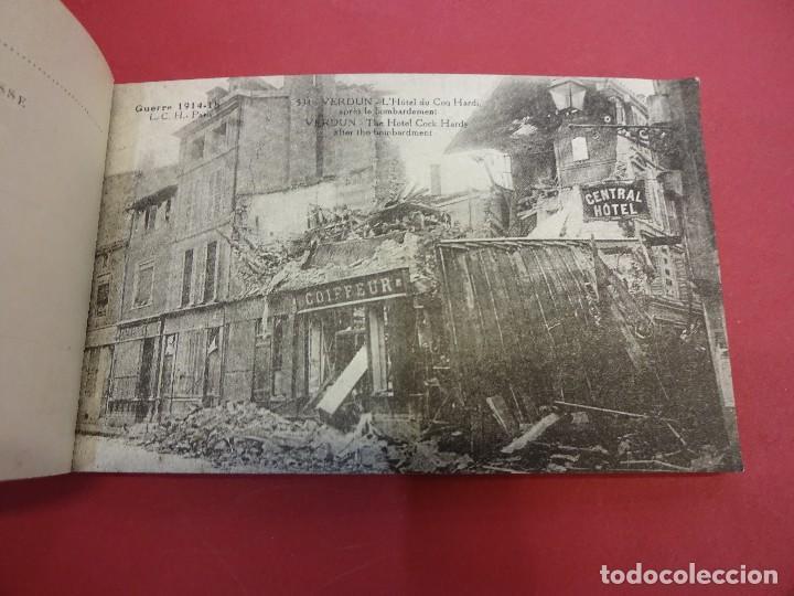 Postales: VERDUN. Block 20 postales original I Guerra Mundial (1914-1918) - Foto 4 - 102776475