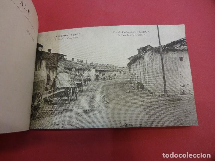 Postales: VERDUN. Block 20 postales original I Guerra Mundial (1914-1918) - Foto 5 - 102776475
