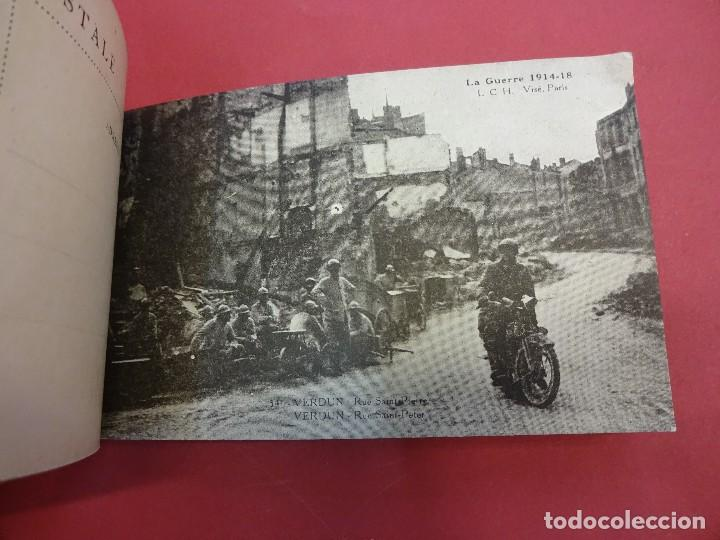 Postales: VERDUN. Block 20 postales original I Guerra Mundial (1914-1918) - Foto 7 - 102776475