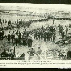 Postales: VIVAC ALEMAN EN BELGICA CERCA DE MOULAND - LE CONFLIT EUROPEEN EN 1914 - 1ª GUERRA MUNDIAL. Lote 103261159