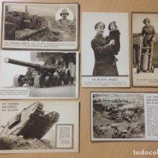 Postales: LOTE COLECCION POSTALES MILITARES EJERCITO BRITANICO PRIMERA GUERRA MUNDIAL. Lote 111619955