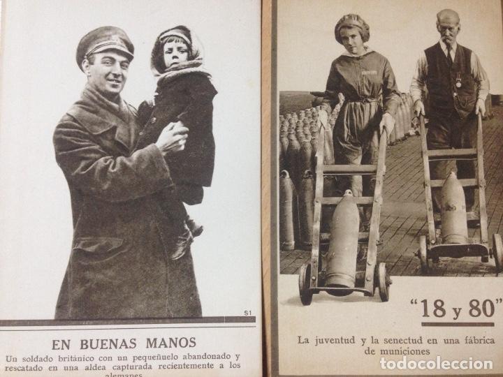Postales: LOTE COLECCION POSTALES MILITARES EJERCITO BRITANICO PRIMERA GUERRA MUNDIAL - Foto 5 - 111619955