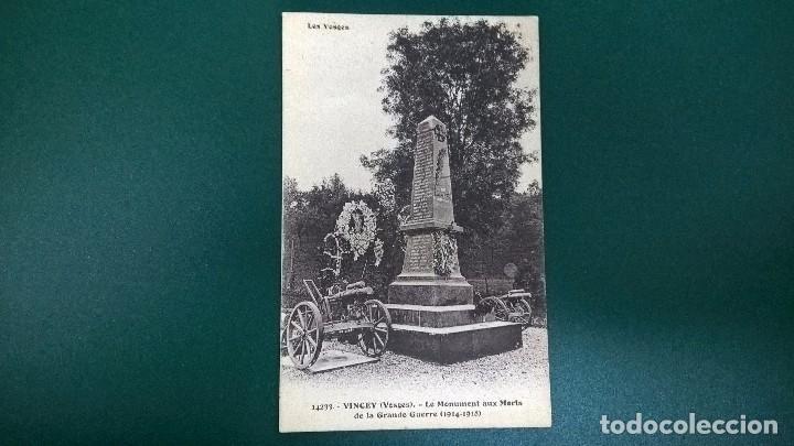 POSTAL VINCEY-LE MONUMENT AUX MORTS 1914-1918 (Postales - Postales Temáticas - I Guerra Mundial)