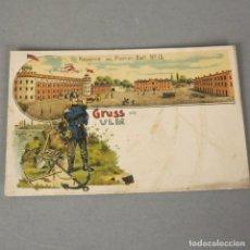 Postales: POSTAL DE LA PRIMERA GUERRA MUNDIAL. ALEMANIA 1916. Lote 116487931
