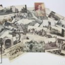 Postales: 42 POSTALES ORIGINALES DE ÉPOCA DE LA I GUERRA MUNDIAL / WWI - YPRES, POPERINGHE. BÉLGICA, EUROPA. Lote 120514371