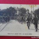 Postales: FRANCIA. REVUE DU 14 JUILLET 1917. AU LION DE BELFORT. Lote 126913099