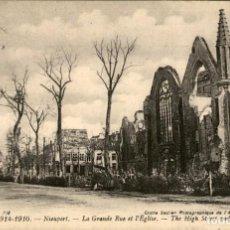 Postales: GUERRA 1914-1916 – NIEPORT – CIRCULADA - 9 X 14 CMS.. Lote 135124006