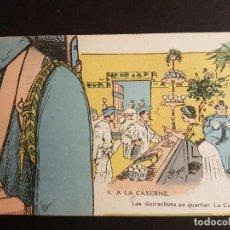 Postales: POSTAL 1ª GUERRA MUNDIAL MILITARES ILUSTRADA. Lote 140688722
