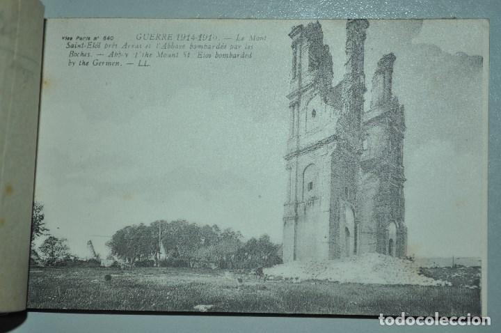 Postales: I GUERRA MUNDICAL. 2 BLOCS DE CIUDADES BOMBARDEADAS. NORTE DE FRANCIA Y VITRY EN ARTOIS. POSTALES - Foto 8 - 141972330