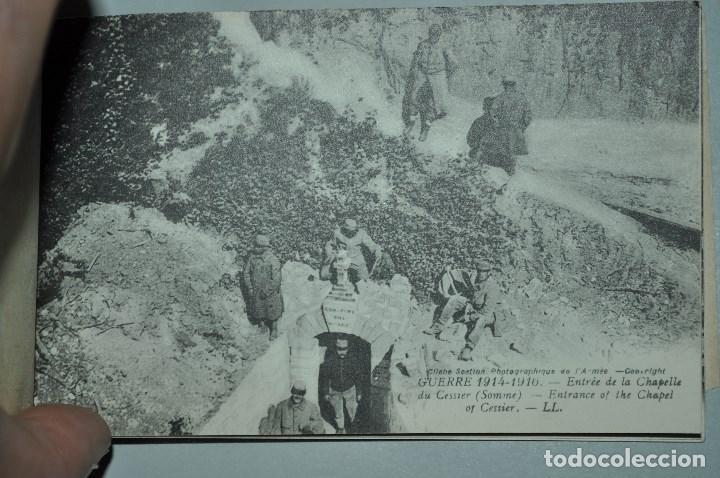 Postales: I GUERRA MUNDICAL. 2 BLOCS DE CIUDADES BOMBARDEADAS. NORTE DE FRANCIA Y VITRY EN ARTOIS. POSTALES - Foto 18 - 141972330