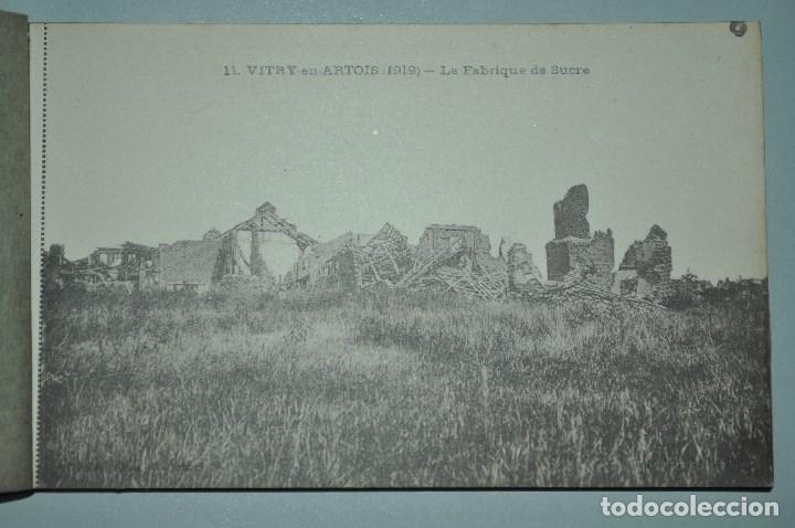 Postales: I GUERRA MUNDICAL. 2 BLOCS DE CIUDADES BOMBARDEADAS. NORTE DE FRANCIA Y VITRY EN ARTOIS. POSTALES - Foto 27 - 141972330