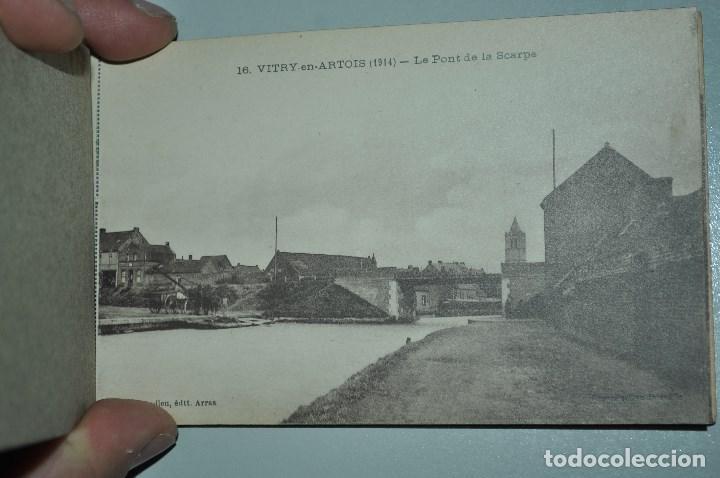 Postales: I GUERRA MUNDICAL. 2 BLOCS DE CIUDADES BOMBARDEADAS. NORTE DE FRANCIA Y VITRY EN ARTOIS. POSTALES - Foto 32 - 141972330