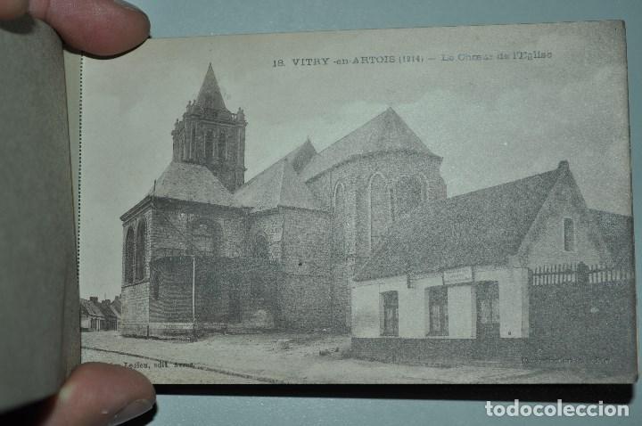Postales: I GUERRA MUNDICAL. 2 BLOCS DE CIUDADES BOMBARDEADAS. NORTE DE FRANCIA Y VITRY EN ARTOIS. POSTALES - Foto 34 - 141972330