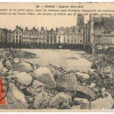 Postales: TARJETA POSTAL ARRAS GUERRE 1914 - 1915 Nº 20 . Lote 145254786