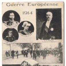 Postales: TARJETA POSTAL GUERRE EUROPÉENN 1914. Lote 145340978