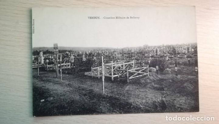 POSTAL CEMENTERIO MILITAR DE BELLERAY-VERDUN, 1ª GUERRA MUNDIAL (Postales - Postales Temáticas - I Guerra Mundial)