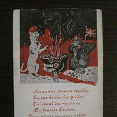 Postales: POSTAL ANTIGUA PRIMERA GUERRA MUNDIAL-LA FONTAINE-I GUERRA MUNDIAL-VER FOTOS-(56.791). Lote 150279114
