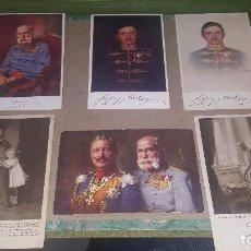 Postales: KAISER FRANCISCO JOSE + OTROS, POSTALES OFICIALES DE LA CRUZ ROJA, PATRIOTICAS AUSTRIA, DE EPOCA. Lote 151470870