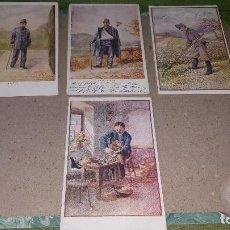 Postales: MUTILADOS DE GUERRA, POSTALES OFICIALES DE LA CRUZ ROJA, PATRIOTICAS AUSTRIA, DE EPOCA. Lote 151480194