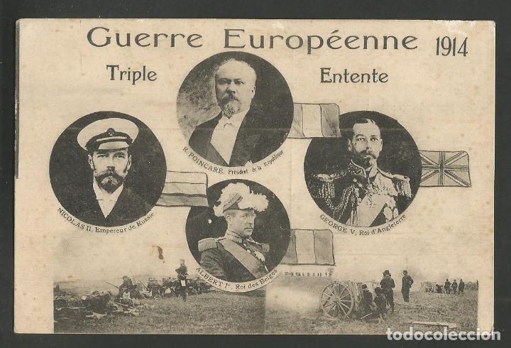 POSTAL PRIMERA GUERRA MUNDIAL- I GUERRA MUNDIAL-GUERRE EUROPEENNE 1914-POSTAL ANTIGUA-(57.409) (Postales - Postales Temáticas - I Guerra Mundial)