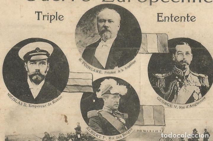 Postales: POSTAL PRIMERA GUERRA MUNDIAL- I GUERRA MUNDIAL-GUERRE EUROPEENNE 1914-POSTAL ANTIGUA-(57.409) - Foto 2 - 153398638