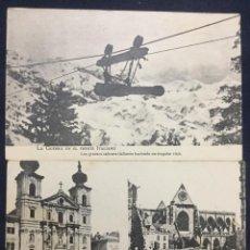 Postales: 2 POSTALES DE LA GUERRA EN EL FRENTE ITALIANO - LACOSTE. Lote 153998466