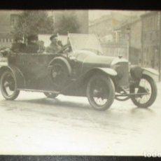 Postales: POSTAL FOTOGRÁFICA DE AUTOMÓVIL FRANCÉS EN LA PRIMERA GUERRA MUNDIAL. 1918.. Lote 154859954