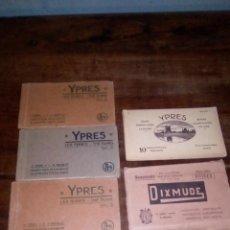 Postales: COLECCION DE POSTALES 1GM YPRES Y DIXMUDE 5 BLOCS DE YPRES Y UNO DE DIXMUDE COMPLETOS. Lote 156801606