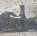 Postales: POSTAL DE LA PRIMERA GUERRA MUNDIAL , EIN TREUER KAMERAD. Lote 160026262